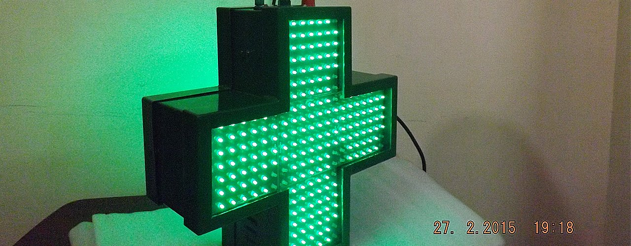 Led Pharmacy Sign Board
