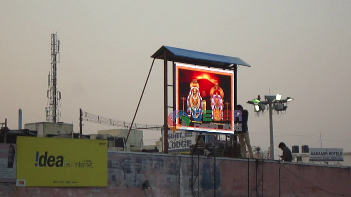 Top 5 criteria to select an outdoor led video wall gesar for Exterior led screen